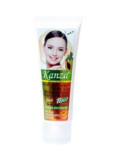 Kanza 3 In 1 Papaya Wash Scrub Mask White 70ml
